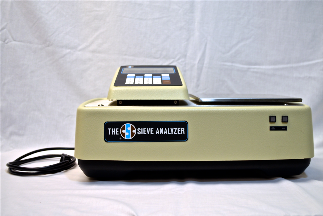 sieve analyzer front