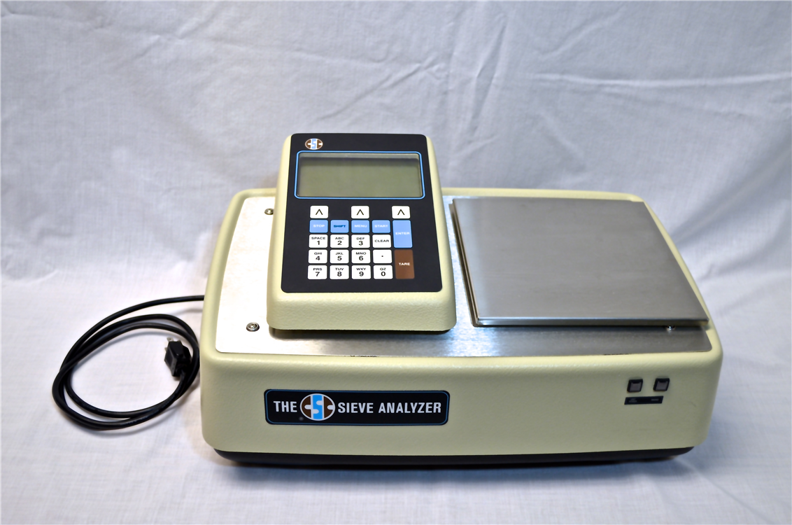 sieve analyzer top