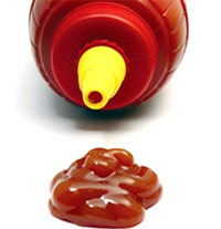 ketchup is a plastic fluid