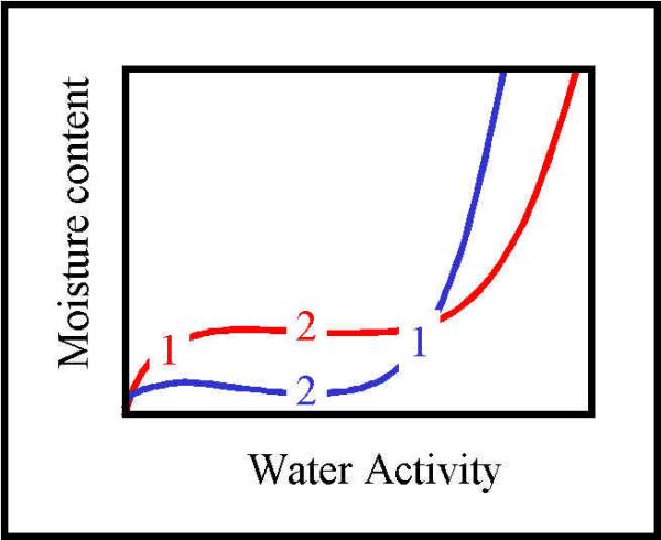 moisture sorption isotherm
