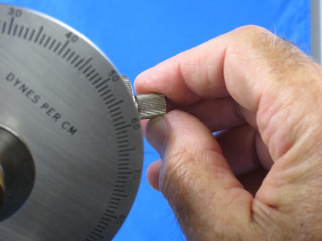 Tensiometer Dial Calibration