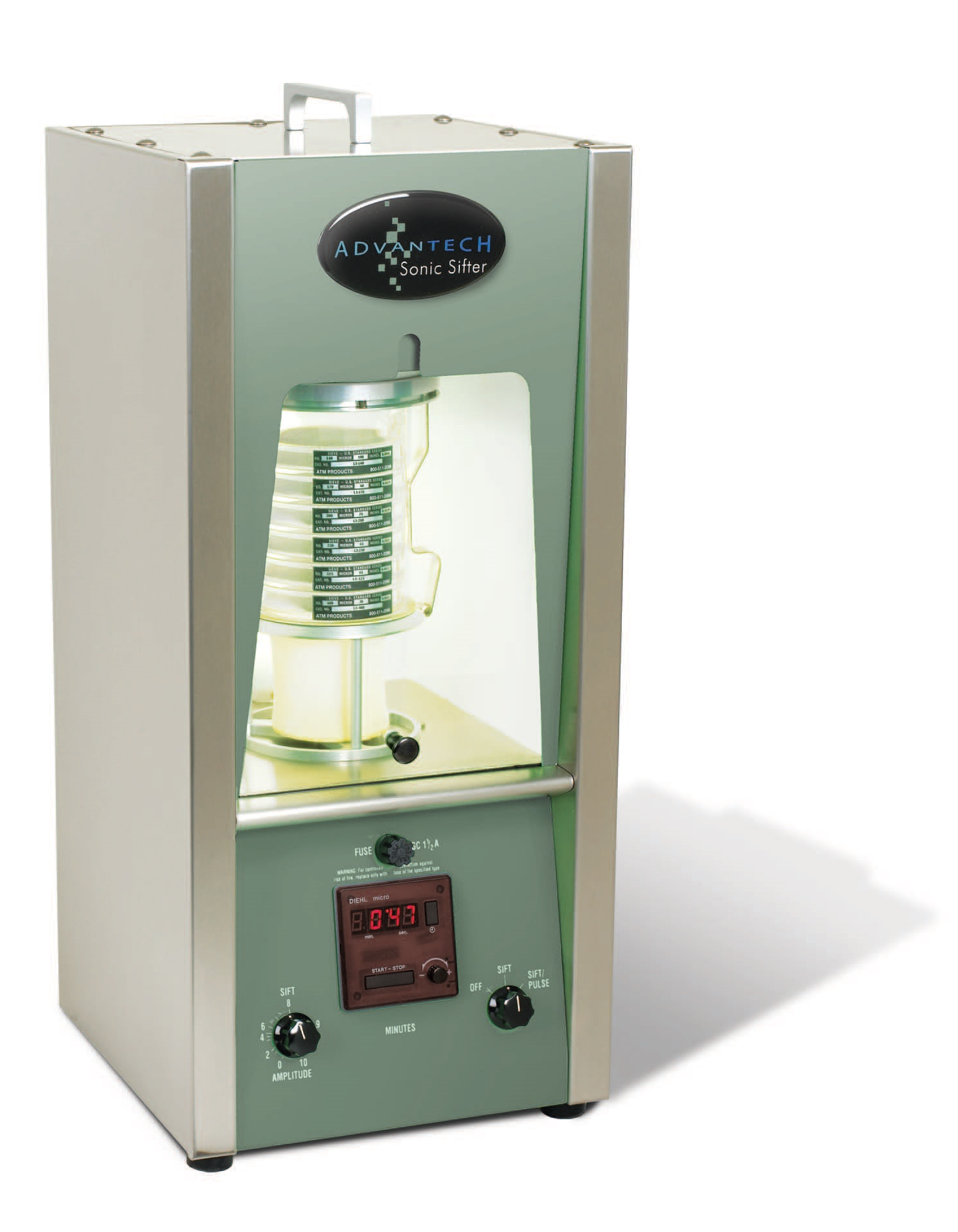 Sonic Sifter for Micron Size Particles