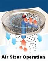 vacuum air sizer diagram