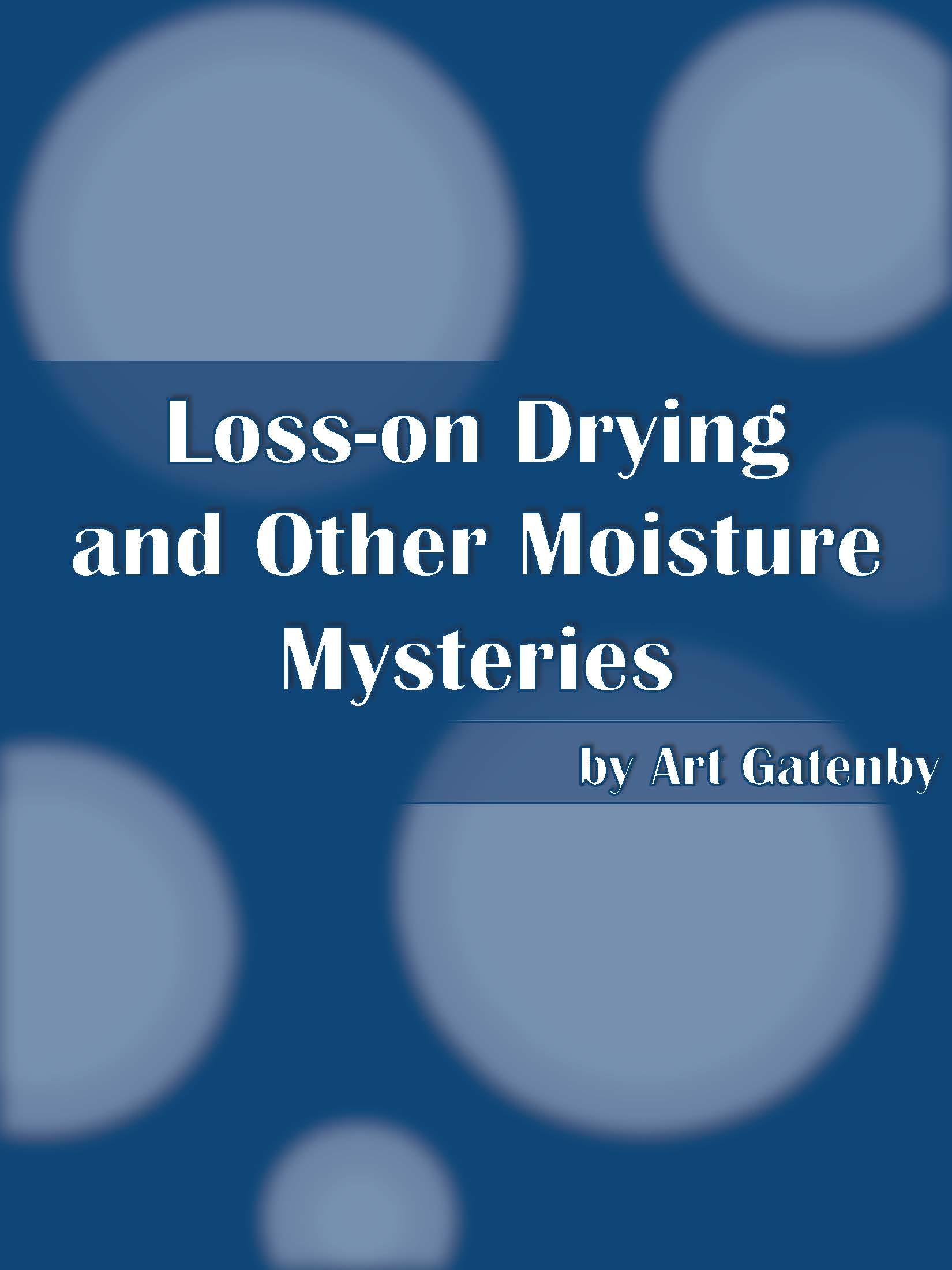 Moisture Mysteries ebook