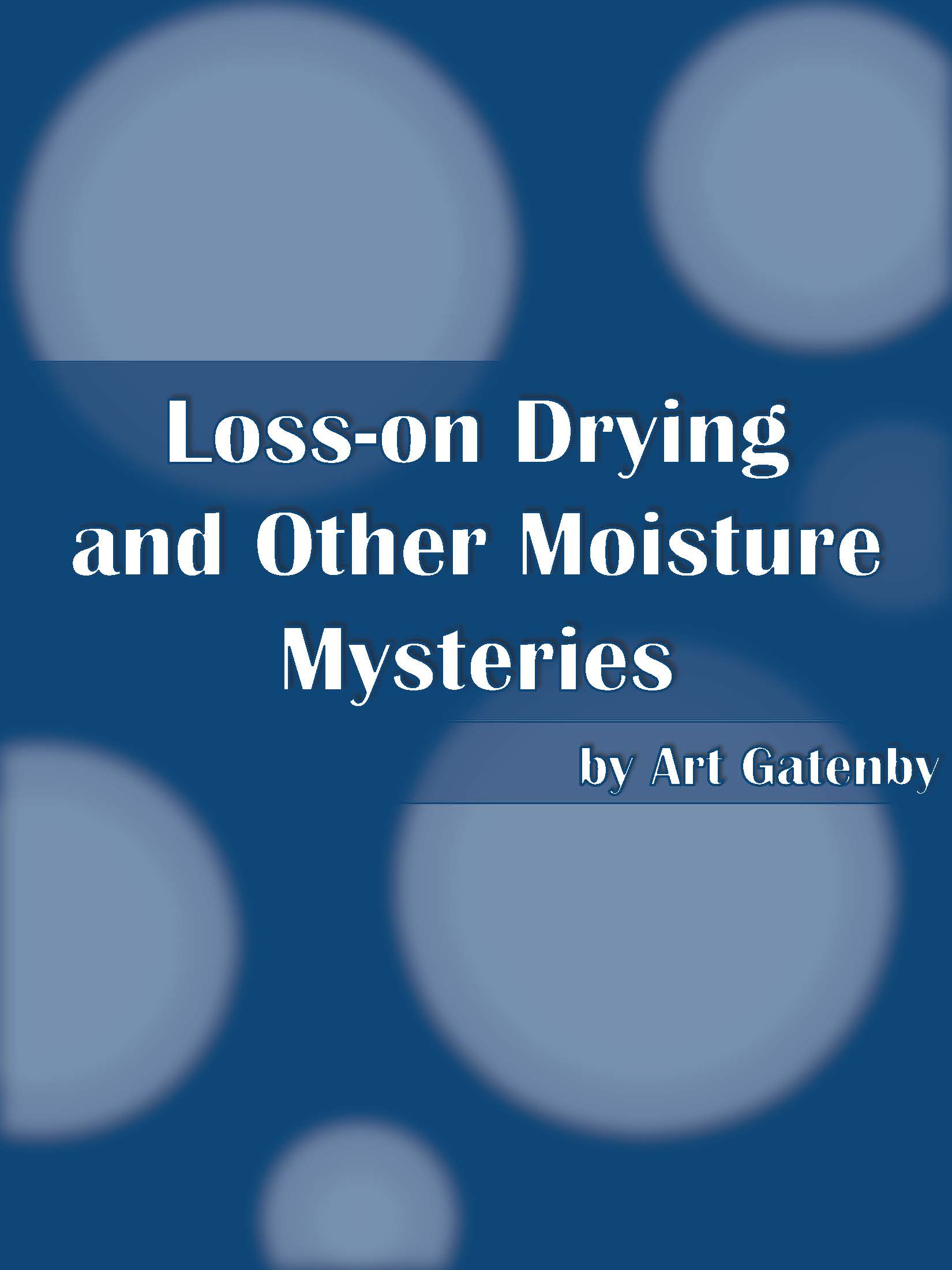 Moisture Mysteries ebook