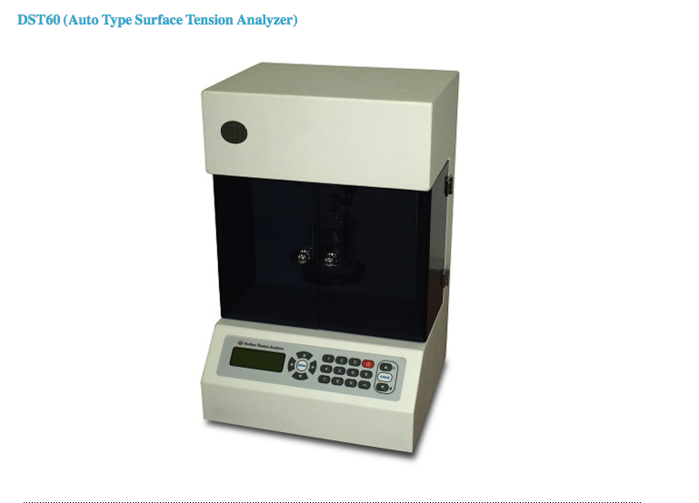 DTS 60 Automatic Tensiometer