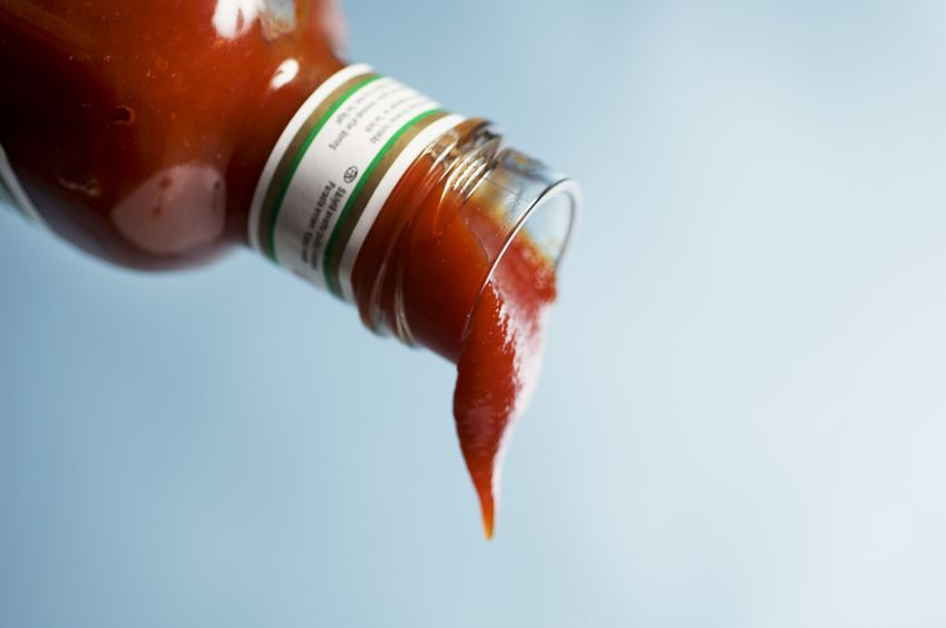 Ketchup flowing out of bottle.jpg
