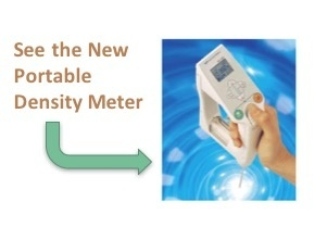 See the New Portable Density Meter